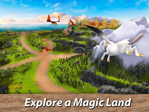 ud83eudd84ud83cudf08u2764ufe0f Pegasus Simulator: Flying ud83dudc0e Horse Survival 1.1 screenshots 6