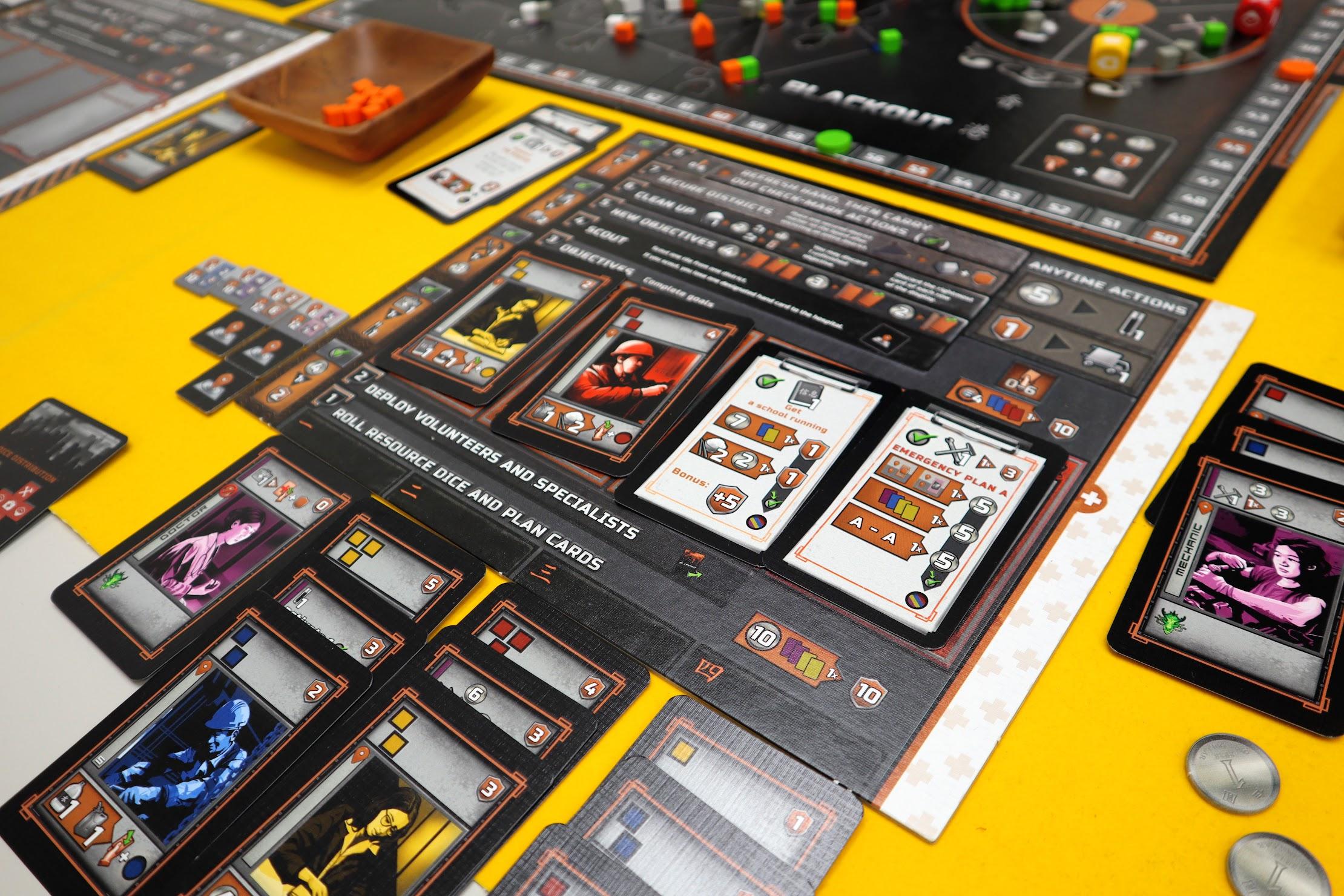 カード効果を適用|ブラックアウト:香港
