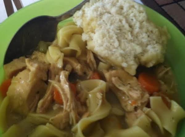 Chiken And Dumplings Recipe