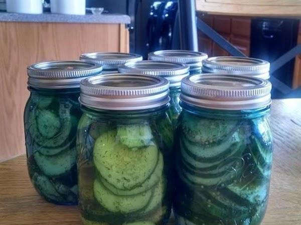 Barb's Garlic Dill Pickle Slices Recipe