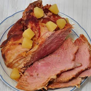 Easy Crock Pot Ham.