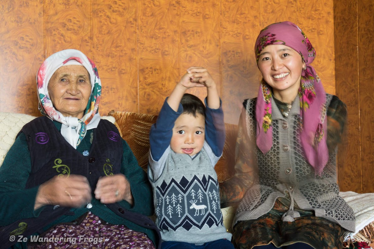 Travel to Tajikistan Pamir Highway and Wakhan Corridor // Our Kyrgyz Host Assel in Alichur
