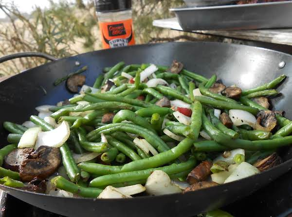 Grilled Fresh Green Beans Recipe