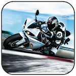 Moto Bike Racing in Traffic Icon