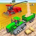 US Tractor Farming Simulator Harvest Farming Games icon