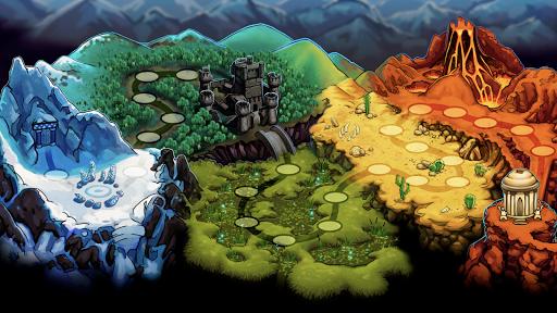 Monster House: Legendary Puzzle RPG Quest 9.9 screenshots 18