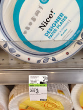Photo: Great deal on Nice! designer paper plates. Perfect for spring picnics.