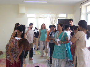 Photo: 1 Month YTT Course - Batch of April 2008 - Farewell Activity.