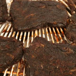 Beef Jerky BBQ.