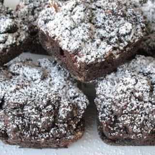 Chocolate Apple Mini Coffee Cakes.