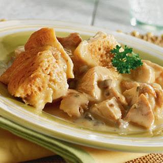 Crock-Pot Chicken & Dumplings.