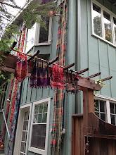 Photo: saori santa cruz studio  weaving classes, spinning , sewing classes and more by appointment  www.saorisantacruz.com