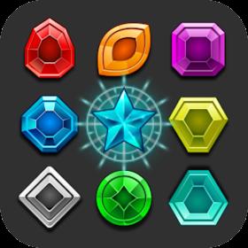 Волшебный камень - согласование 3 игра