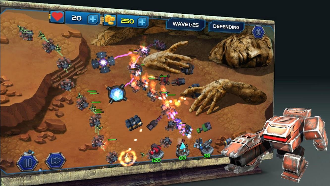 Tower Defense Zone - Kingdom Rush Fantasy Wars TD – (Android
