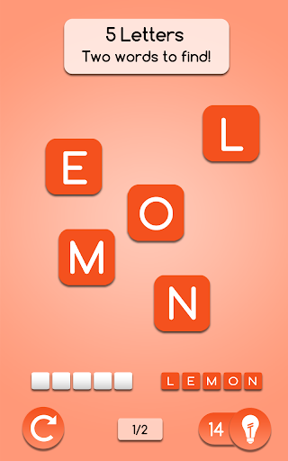 AnagrApp - Brain Training with words : Brain games - screenshot