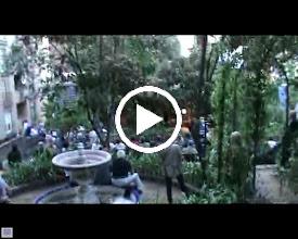 Video: Festa Major 2011, 6 de juny, capvespre musical als jardins de Portolà 6.  Soprano: Olga Miracle. Llaüt/tiorba: Noemí M. Agell