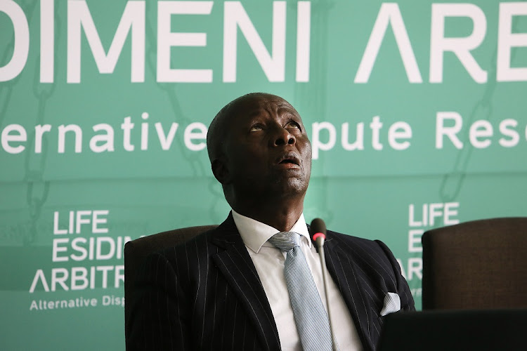 Retired Deputy Chief Justice Dikgang Moseneke. File photo.