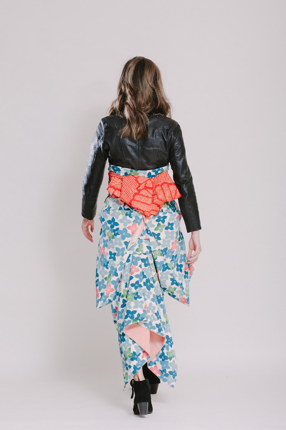 Audrey's Outfit at Kimono Styling Party - FAFAFOOM.com