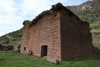 Photo: Construcción principal Huchuyqosqo Actividad 2012