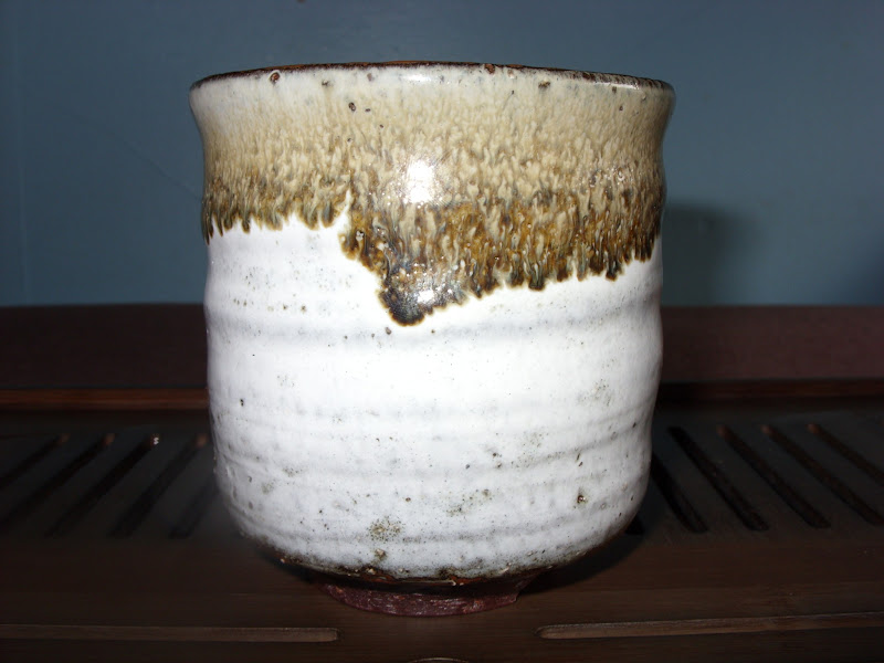 Photo: My sea cucumber hagi by Yamane Seigan. This was purchased throughTea Chat.
