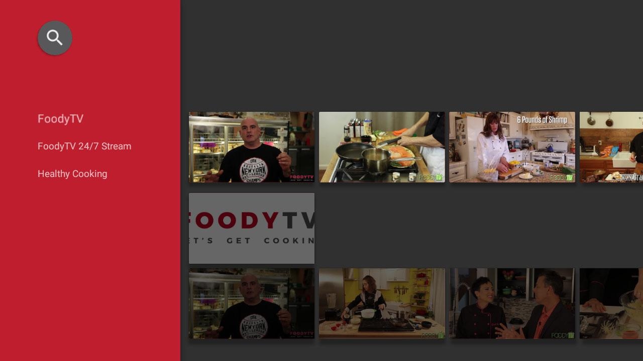 FOODYTV- screenshot