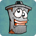 Monster Trash Can Toss icon
