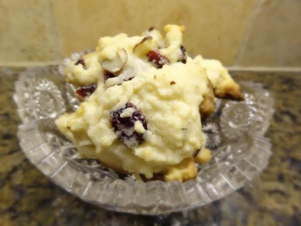 Cranberry Almond Cookies Recipe