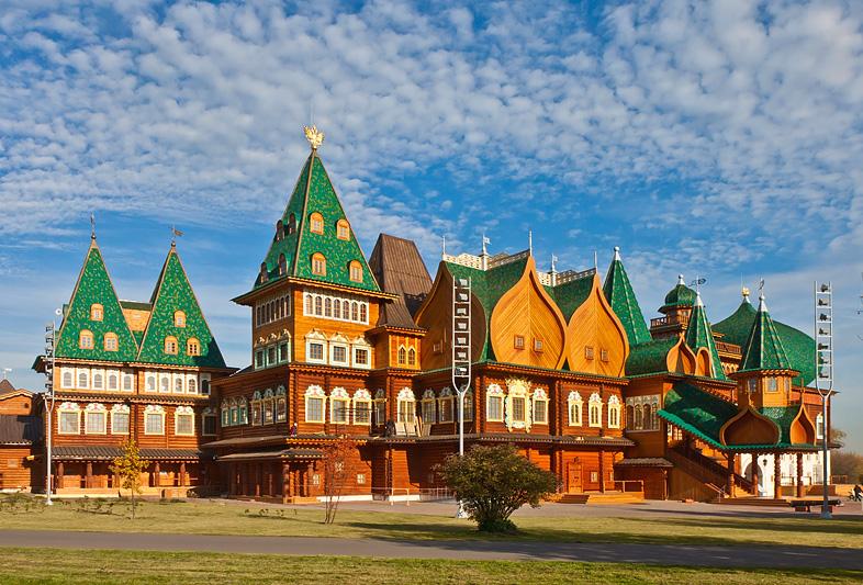 Kolomenskoye park in Moscow
