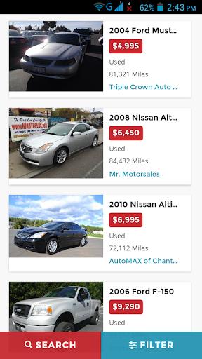 Buy Used Cars in USA Screenshot
