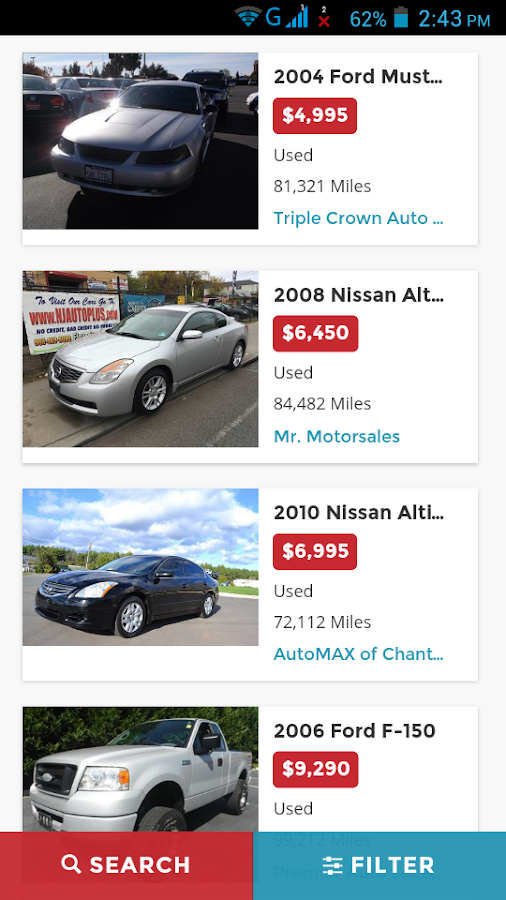 Buy Used Cars In Usa Android Apps On Google Play