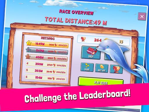 Rainbirth Dolphin Show Infinite Runner Water Race  screenshots 12