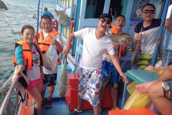 Cast your line in the tropical sea around Koh Samui