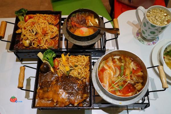 義大利麵和火鍋的組合 Ms.Ye Lu米斯耶嚕 一鍋一燒 含菜單 聖誕大餐CP值高