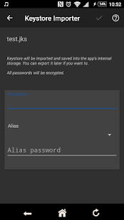 apk-signer Screenshot