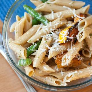 Autumn Pasta Salad with Basil Vinaigrette