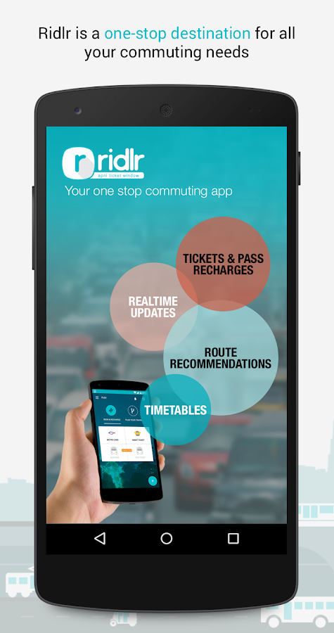 Ridlr – BEST bus ticketing app- screenshot