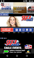 Screenshot of 97.3 The Eagle