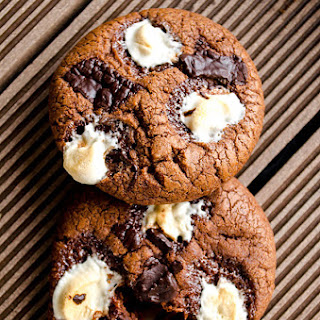 Marshmallow Chocolate Cookies