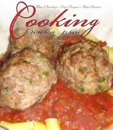 Delicious Beef & Pork Meatballs