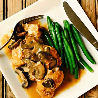 21 Day Fix Instant Pot Chicken Marsala (Stove-top Optional).