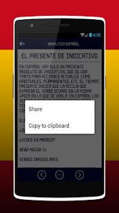 Spanish Grammar tenses - náhled