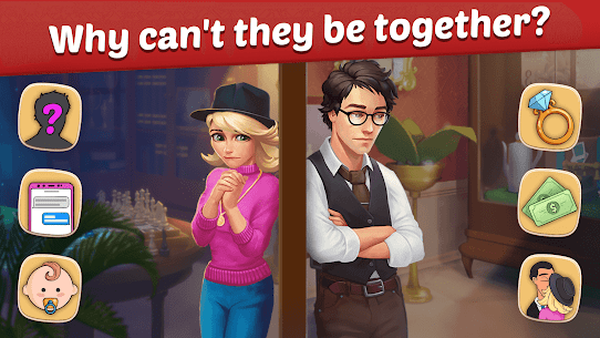 Family Hotel MOD APK 1.96 [Unlimited Keys + Coins + Boosters + Lives] 3