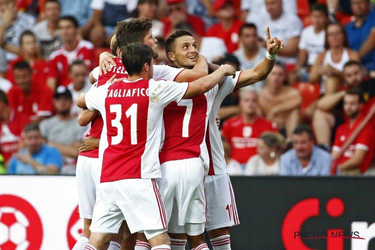 Ajax speelt ook in eigen competitie tegenstand aan gort, Pedersen krijgt blamage te verwerken