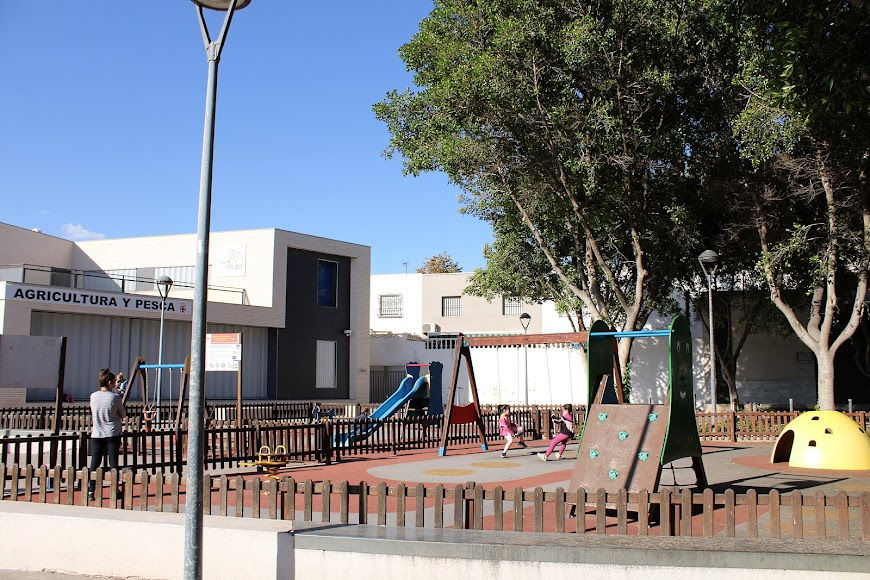 Parque Infantil de la calle Antonio Muñoz Zamora.