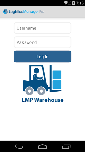 LMPro Mobile Warehouse 1.5 screenshots 1