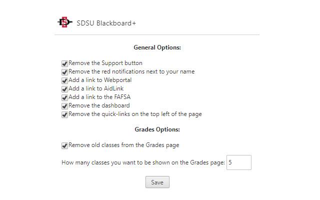 SDSU Blackboard+