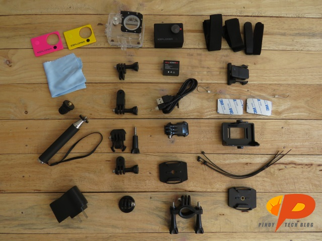 Cherry Mobile Action Camera accessories