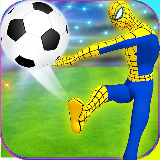 Futuristic Spider Hero Soccer