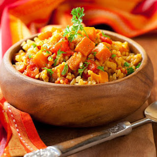 Meat Pilav With Vegetables