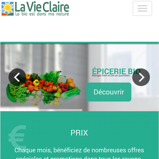 La vie claire bio perpignan android apps on google play for La vie claire olivet